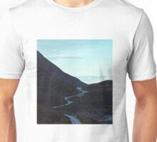 Windy west coast road  Unisex T-Shirt