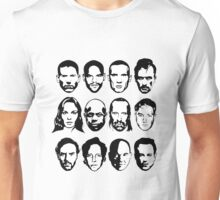 Prison Break- Michael, Sucre, Lincoln, T-bag, Sara, C-note, Abruzzi, Tweener, Haywire, Mahone, Bellick & Kellerman Unisex T-Shirt