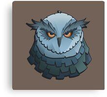Cynical Owl Canvas Print