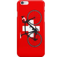 Bike Flag Switzerland (Big - Highlight) iPhone Case/Skin