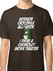 Interior Crocodile Alligator Classic T-Shirt