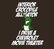 Interior Crocodile Alligator Unisex T-Shirt