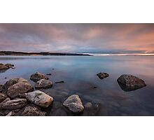 Sunrise on the Rocks Photographic Print