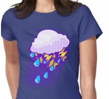 Thunderstorm Womens Fitted T-Shirt