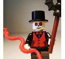 Voodoo Priest / Witch Doctor Zombie Custom LEGO® Minifigure, by 'Customize My Minifig' by Chillee