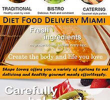 Diet Food Delivery Service by HealthyMealDeli