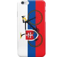 Bike Flag Slovakia (Big - Highlight) iPhone Case/Skin