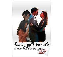 Tony and Ziva - One Day Poster