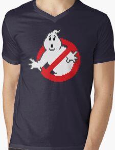 8-bit 'Busters Mens V-Neck T-Shirt