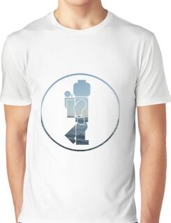 The Lego Backpacker Logo Graphic T-Shirt