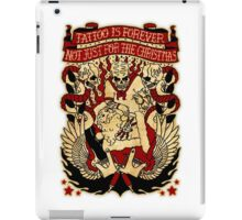 Informative Signs - Tattoo is forever iPad Case/Skin