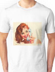 Gil Elvgren Appreciation T-Shirt no. 10. Unisex T-Shirt