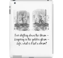 Through the Looking Glass iPad Case/Skin