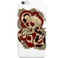Skull & Snake iPhone Case/Skin