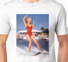 Gil Elvgren Appreciation T-Shirt no. 12. Unisex T-Shirt