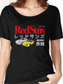 Initial D - Akagi RedSuns Women's Relaxed Fit T-Shirt
