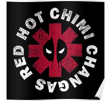Red Hot Chimichangas Poster