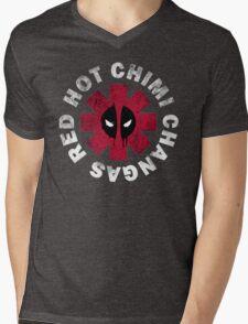 Red Hot Chimichangas Mens V-Neck T-Shirt