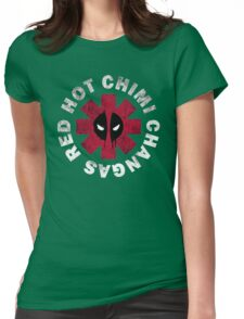 Red Hot Chimichangas Womens Fitted T-Shirt