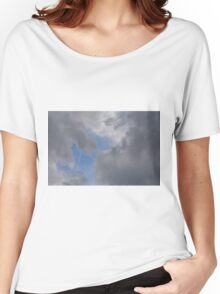 Fluffy stormy clouds. Women's Relaxed Fit T-Shirt