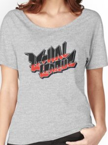 Lethal League Logo Women's Relaxed Fit T-Shirt