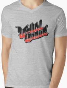 Lethal League Logo Mens V-Neck T-Shirt