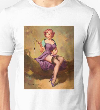 Gil Elvgren Appreciation T-Shirt no. 15. Unisex T-Shirt