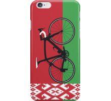 Bike Flag Belarus (Big - Highlight)  iPhone Case/Skin