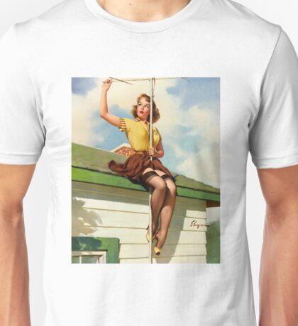 Gil Elvgren Appreciation T-Shirt no. 16. Unisex T-Shirt