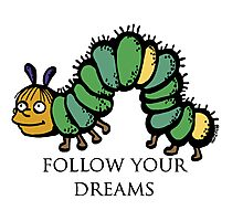 Ralph Wiggum- Follow Your Dreams Photographic Print