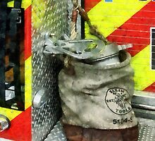 Bucket on Fire Truck by Susan Savad