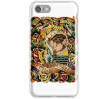 """Old Timers - Ole Hansen """"Tattoo Ole"""" iPhone Case/Skin"""