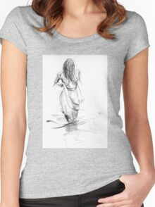Lady In the Waters  Women's Fitted Scoop T-Shirt