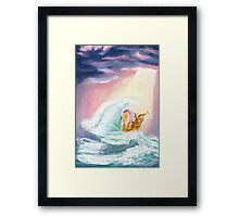 Blanche In Wonderland Framed Print