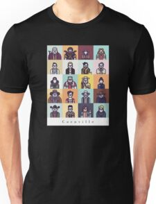 Coenville (w/ black lettering) Unisex T-Shirt
