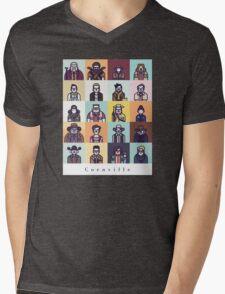 Coenville (w/ black lettering) Mens V-Neck T-Shirt