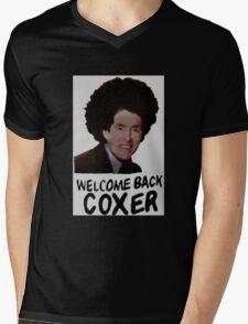 Welcome Back Cox Coxer Mens V-Neck T-Shirt
