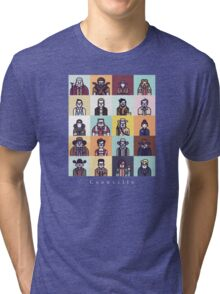 Coenville (w/ white lettering) Tri-blend T-Shirt