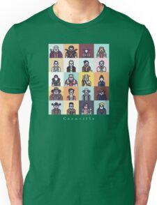 Coenville (w/ white lettering) Unisex T-Shirt