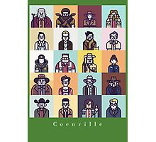 Coenville (w/ white lettering) Photographic Print