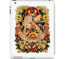 Informative Signs - Set 01 - Appointment only iPad Case/Skin