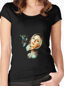 Buffy & Angel Women's Fitted Scoop T-Shirt