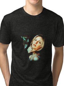 Buffy & Angel Tri-blend T-Shirt
