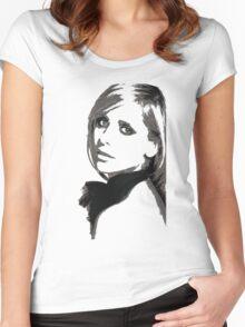 Sarah Michelle Gellar Women's Fitted Scoop T-Shirt