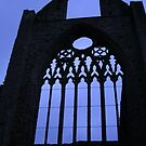 Tintern Abbey Silhouette by lezvee