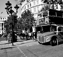 London Bus moment by Rob-Yates
