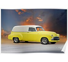 1952 Chevy Sedan Delivery Poster