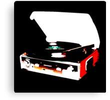 Record Player/ Modern Canvas Print
