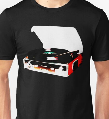 Record Player/ Modern Unisex T-Shirt