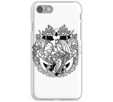 Mermaid Anchor Lines iPhone Case/Skin